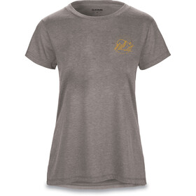 Dakine Mountain Stars SS Tech Tee Women, heather graphite